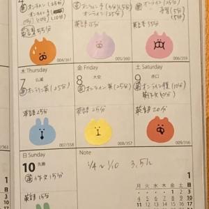 【英語学習記録】1/4〜1/10【1週間】