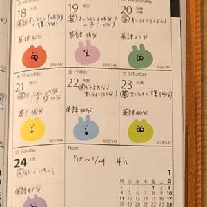 【英語学習記録】1/18〜1/24【1週間】