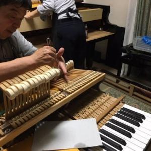 ピアノ♪オーバーホール(3)
