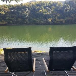 高知県香美市の湖畔遊に、いつて来ました!!!景色最高ですよ!!