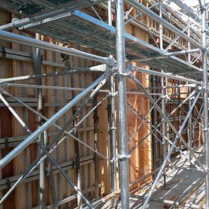 1階型枠工事