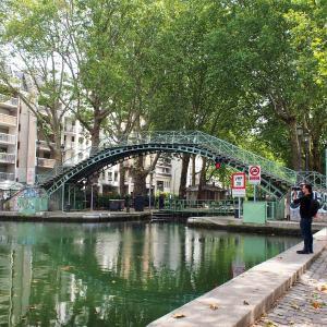 フランス&スペイン旅「ワインとバスクの旅へ!変わらないパリと変わっていくパリ。サン・マルタン運河を眺めながら」