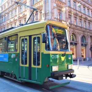 ちょこっとフィンランド&クロアチア旅「機能的なトラムが滑り込む、ヘルシンキはどこをとってもサマになる街!」