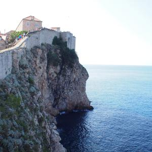ちょこっとフィンランド&クロアチア旅「ドゥブロヴニクの城壁お散歩は、いよいよ後半戦!城壁歩きのコツも少し」