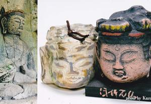 旅の記念品(8) -臼杵石仏仏頭のお土産-