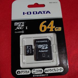 microSDカードwith I・O DATA