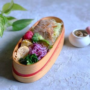 煮豚弁当と春の食材〜ふき味噌!