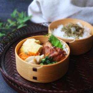 豚ヒレの照り焼き弁当と春の食材!