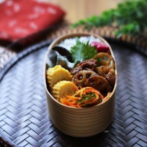 発酵生姜で美味しい豚バラと蓮根の生姜焼き弁当!