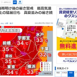 暑い日がやってきました。 夏の合戦といえば「大坂 夏の陣」? No3734