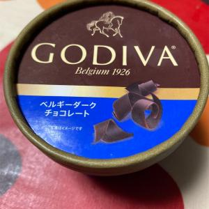GODIVA ベルギーダークチョコレート アイスだよ