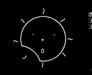 コブタさんの日食