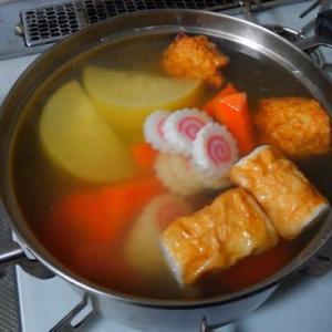 0116夕食:小田原おでん