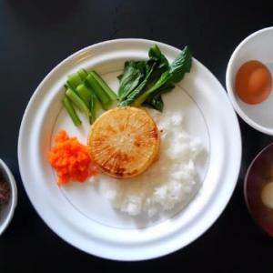 0220朝食:大根ステーキ