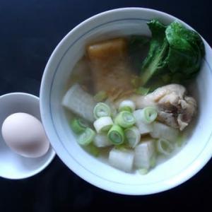 朝食:ガラムマサラの香る雑煮