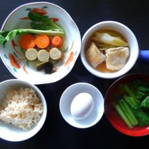 1021朝食:じぶんで親子丼/夕食:買った餃子とニラ饅頭を焼いて失敗