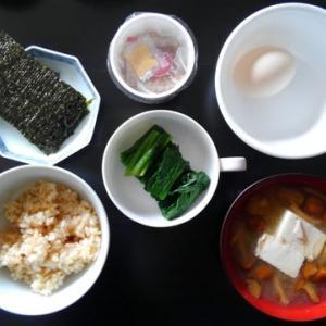 1027朝食:憧れの朝食だったこれ-1