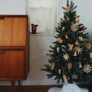 今年は北欧クリスマス ストローオーナメントでほっこりツリー
