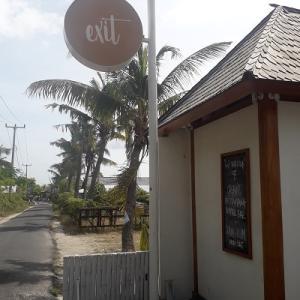 レンボンガン島のレストラン☆exit