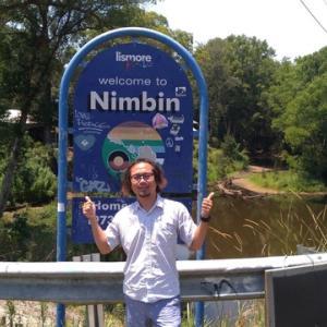 ゴールドコーストからニンビンにウーバーで行ってきました