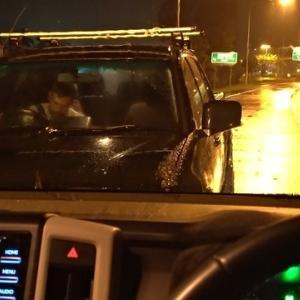 飲酒居眠り交通事故が発生したあとの、オーストラリア警察の対応について