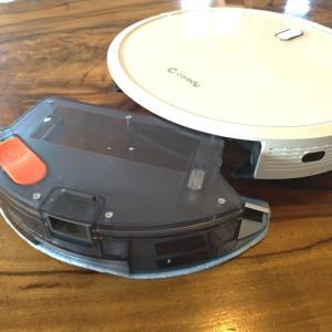 【Coredy R580】ロボット掃除機ついにモップ拭きもやり始める もう最高です