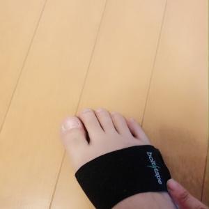 6/23 足が痛くて?じんじん鈍痛してます。外反母趾?