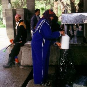 モロッコのデトックス水の里シディハラゼム