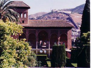 イスラム庭園6:アルハンブラ宮殿(グラナダ)