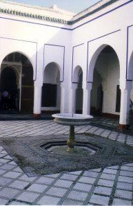 イスラム式庭園8:バフィア宮殿(マラケシュ)