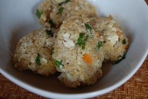 美容にもいいダイエットレシピ!オートミールと豆腐のがんもどき