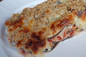 Vegetarian Mussaka with Oatmeal