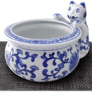 猫が覗き込む姿が可愛い♪金魚鉢や鉢カバーに♪マット付き