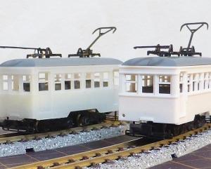 津川洋行 日車タイプ2軸気動車 組立キット(T車)を作る その2