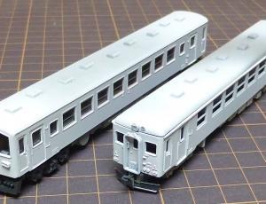2両のジーゼルカー