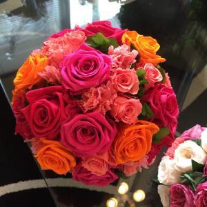 気圧の変化にやられやすいこの時期だからこそお花にパワーをもらおう♡