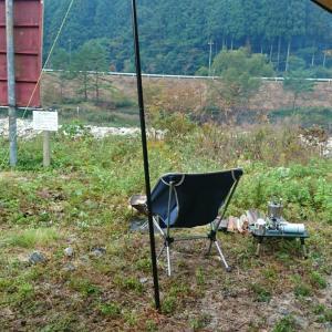 黄和田キャンプ場にてNEWテント(タラスブルバ)試し張りキャンプ③