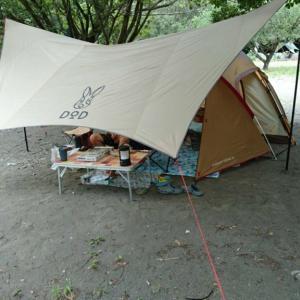 つり橋の里キャンプ場にて2泊3日の避暑キャンプPart1(出撃編)