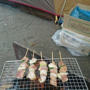 つり橋の里キャンプ場にて2泊3日の避暑キャンプPart2(ワクワク宴会編)