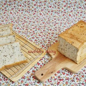 久しぶりの食パンづくり/Sesami Bread