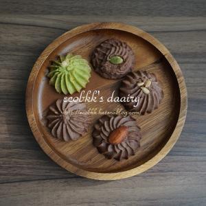 【スイーツ】クッキーのトッピングに植物の種/Seeds on Cookies