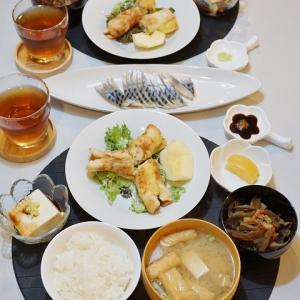 【和食】熊本名物「ちくわサラダ」/Fish Sausage Salad, One of the Local Dishes in Kumamoto Province of Japana