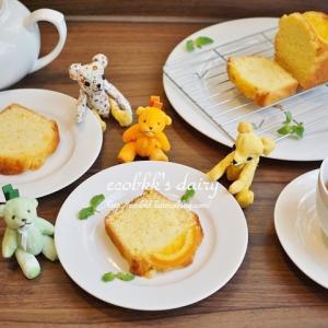 【スイーツ&手芸】パウンドケーキとクマさん/Pound Cakes and Bears