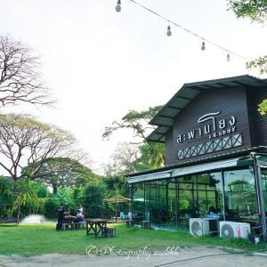 【タイ・ナコンパトム】田んぼの見えるレストラン「サパーンヨーン」/Rice Field Restaurant in Nakhon Pathom province of Thailand
