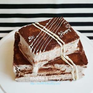 【スイーツづくり】オレンジ&チョコのスクエアーケーキ/เค้ก/Chocolate Cake with Orange
