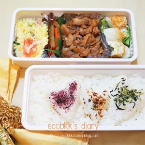 ハート弁当/My Homemade Lunchbox/ข้าวกล่องเบนโตะที่ทำเ