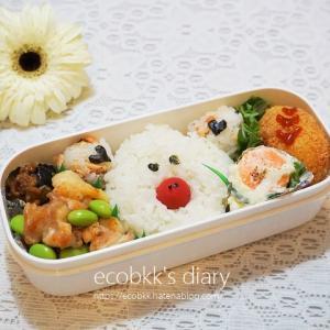 豚さん弁当/My Homemade Lunchbox/ข้าวกล่องเบนโตะสำหรับสามี
