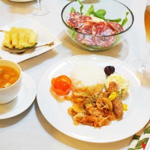 おうち夜ご飯の記録2日分/My Homemade Dinner/อาหารมื้อดึกที่ทำเอง