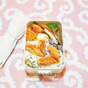 お弁当の記録3日分/My Homemade Boxed Lunch/ข้าวกล่องเบนโตะที่ทำเอง