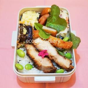 おかず盛りだくさんになったお弁当/My Homemade Boxed Lunch/ข้าวกล่องเบนโตะที่ทำเอง